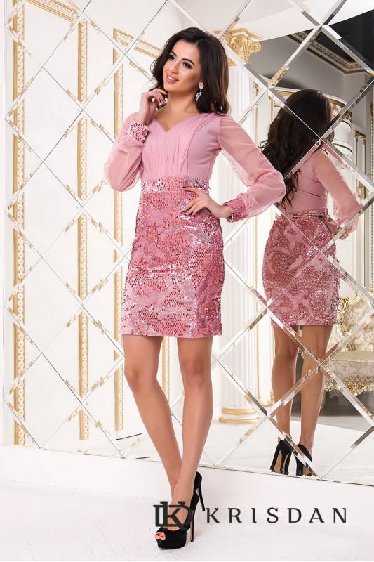 Коктейльное платье 8211e