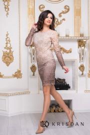 Коктейльное платье 8212e