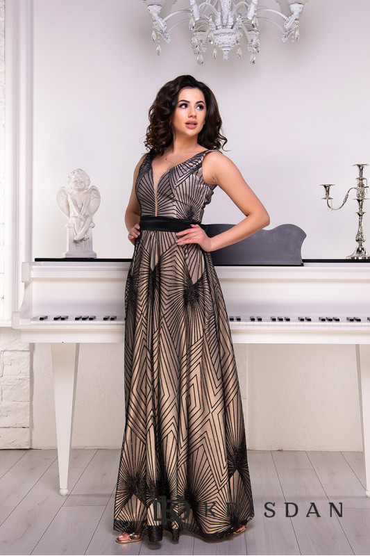 Вечернее платье 9065e