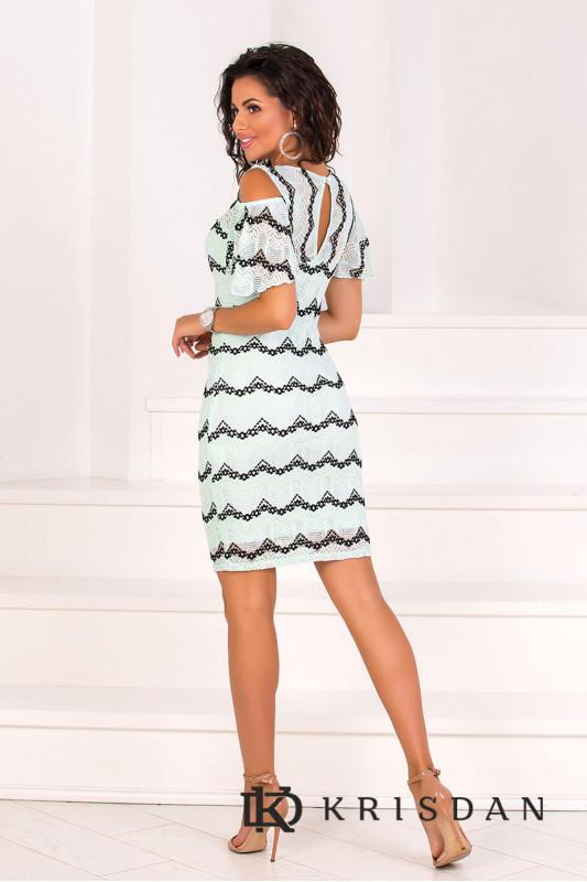 Коктейльное платье 8102e