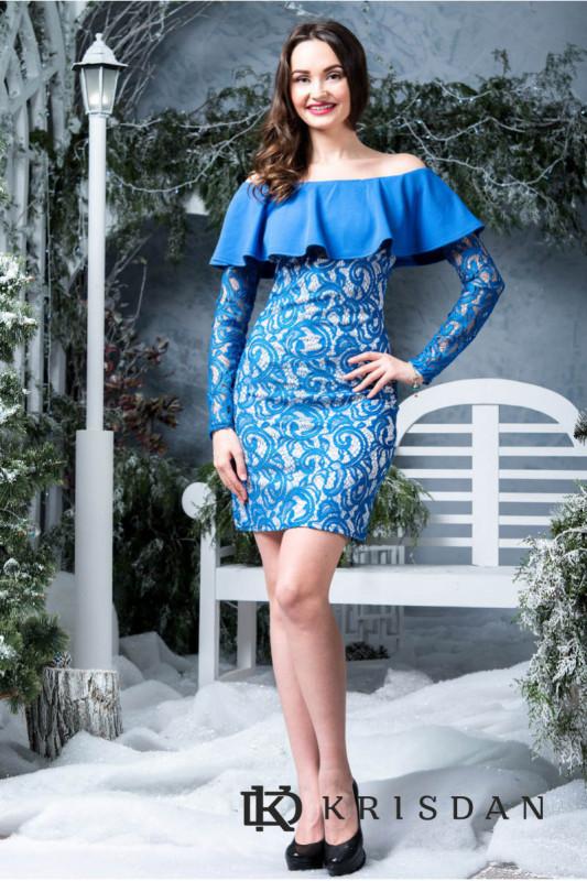 Коктейльное платье 6283e